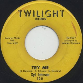 Syl Johnson / Come On Sock It To Me