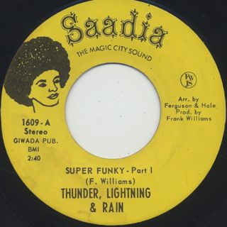 Thunder, Lightning & Rain / Super Funky