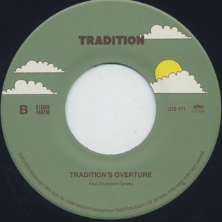 Tradition / Captain Ganja And The Space Patrol EP Vol.1 label