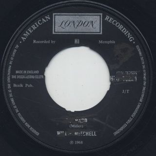 Willie Mitchell / Up Hard c/w Beale Street Mood