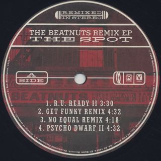Beatnuts / The Spot (The Beatnuts Remix Ep) label