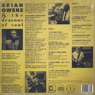 Brian Owens / Soul of Ferguson back