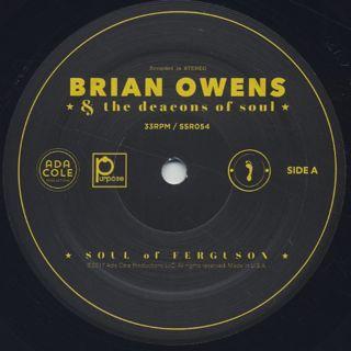 Brian Owens / Soul of Ferguson label
