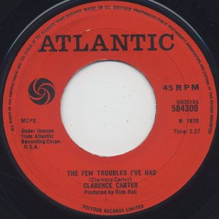 Clarence Carter / Take It Off Him And Put It On Me back