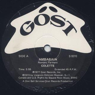 Colette / Ambabaia