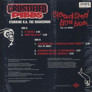 Crustified Dibbs / Bloodshed Hua Hoo back