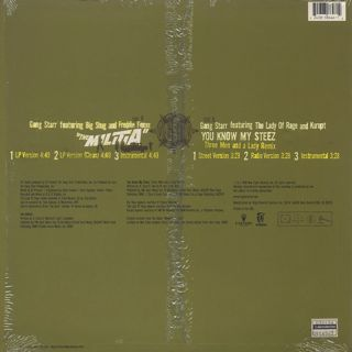 Gang Starr / The Militia back