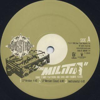 Gang Starr / The Militia label
