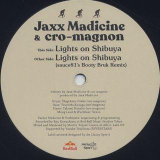 Jaxx Madicine & cro-magnon / Lights On Shibuya back