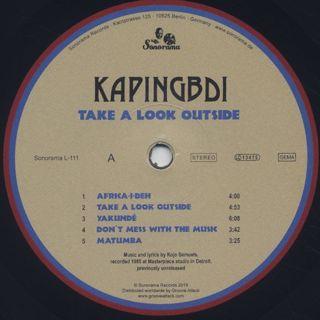 Kapingbdi / Take A Look Outside label