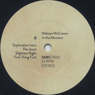 Makaya McCraven / In The Moment (3LP) label