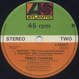 Prince Charles / Skintight Tina back