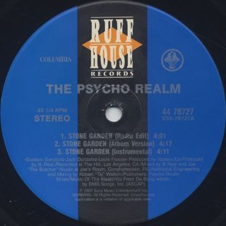 Psycho Realm / The Stone Garden label