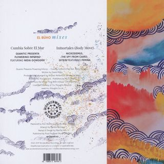 Quantic / Cumbia Sobre El Mar c/w Nickodemus / Inmortales (El Buho Remixes) back