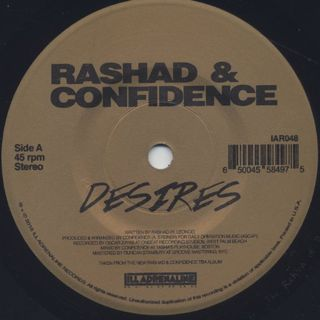 Rashad & Confidence / Desires label