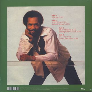 Roy Ayers / Silver Vibrations (2LP) back