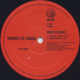 Shadz Of Lingo / Mad Flavaz label