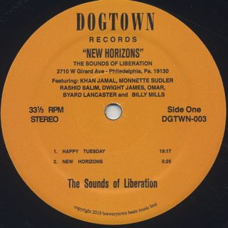Sounds Of Liberation / New Horizons label