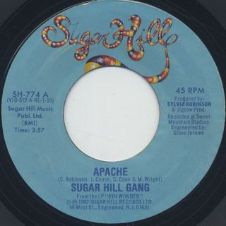 Sugar Hill Gang / Apache c/w Rapper's Delight