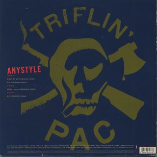 Triflin' Pac / Anystyle back