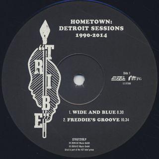 V.A. / Hometown: Detroit Sessions 1990-2014 label