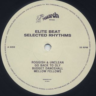 Elite Beat / Selected Rhythms label
