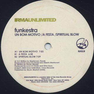 Funkestra / Un Bom Motivo back