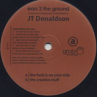 JT Donaldson / Ears 2 The Ground