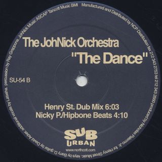 JohNick Orchestra / The Dance label