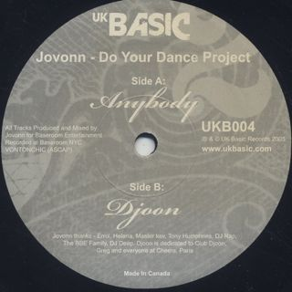 Jovonn / Do Your Dance Project