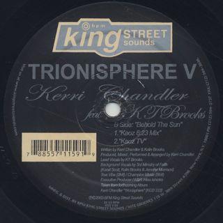 Kerri Chandler / Trionisphere V label