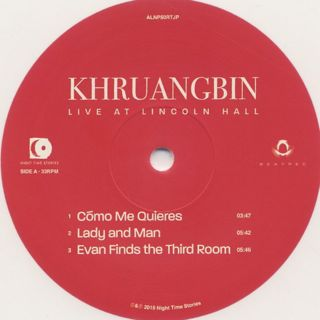 Khruangbin / Live At Lincoln Hall label