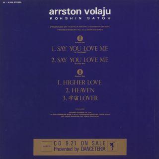 Kohshin Satoh / Arrston Volaju back