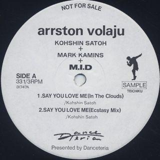 Kohshin Satoh / Arrston Volaju label