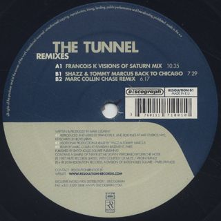 Mark Clement / The Tunnel (Remixes) label