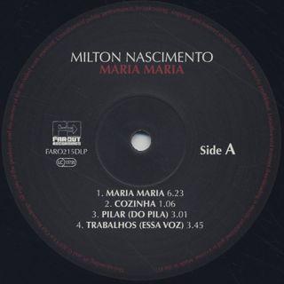 Milton Nascimento / Maria Maria (2LP) label