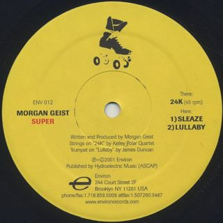 Morgan Geist / Super front