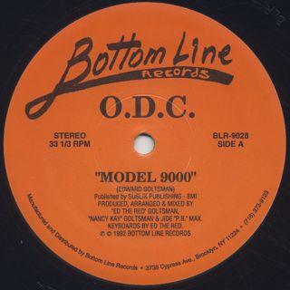 O.D.C. / Model 9000 back