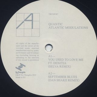 Quantic / Atlantic Modulations label