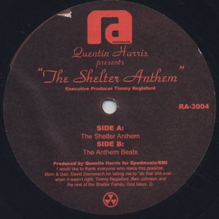 Quentin Harris / The Shelter Anthem
