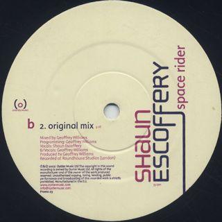 Shaun Escoffery / Days Like This label