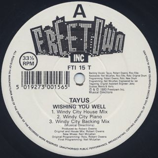 Tayus / Wishing You Well label