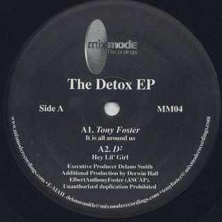 V.A. / The Detox EP front