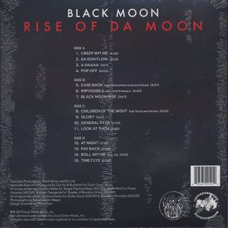 Black Moon / Rise Of Da Moon back