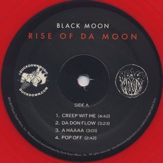 Black Moon / Rise Of Da Moon label
