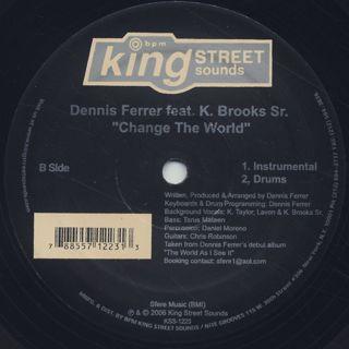 Dennis Ferrer / Change The World back