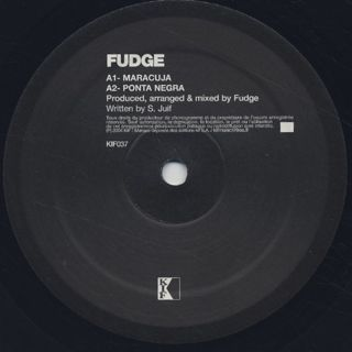 Fudge / Ponta Negra label