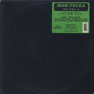 Man-Tecka Featuring JD III / EP Vol. 2 front