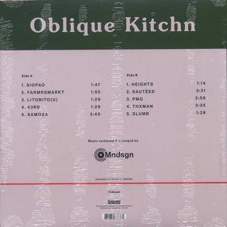 Mndsgn / ObliqueKitchn back