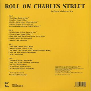 Prince Buster / Roll On Charles Street (2LP) back
